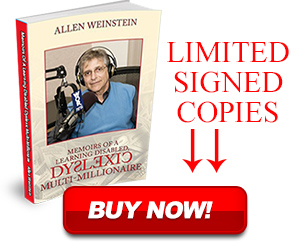 Allen Weinstein limited signed book copies.