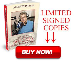 Allen Weinstein limited signed book copies.