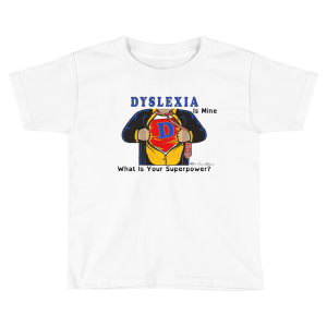 Dyslexia Superhero Boys T-shirt