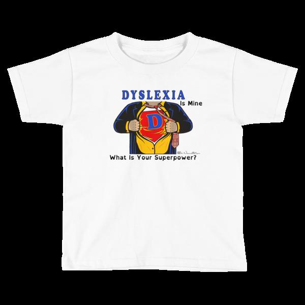Dyslexia Superhero Boys T-shirt